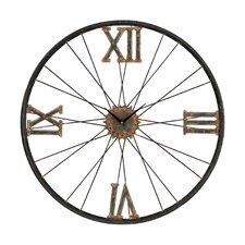 "Oversized 24"" Iron Wall Clock"