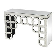 Rings Mirrored Console