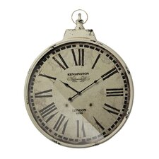 "Oversized 23.6"" Kensington Station Wall Clock"