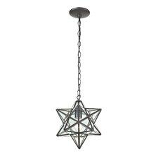 1 Light Star Pendant