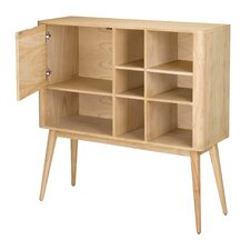 """Retro Book Rack 47"""" Standard Bookcase"""