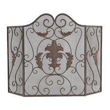 Iron Scroll Work Firescreen