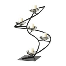 Iron Spiral Candle Holder