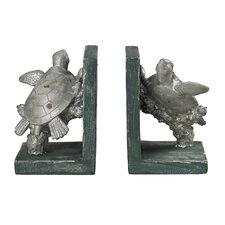 Swimming Turtle Book Ends (Set of 2)