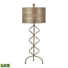 """Viola 34"""" H Table Lamp with Drum Shade"""