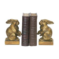Baby Rabbit Book Ends (Set of 2)