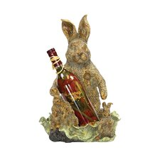 Rabbit 1 Bottle Tabletop Wine Rack