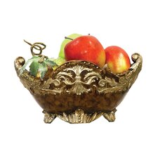 Scripted Mantle Fruit Bowl
