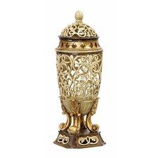 Sculpted Ornate Decorative Urn