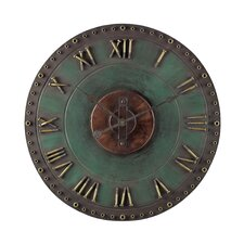 "Oversized 24"" Roman Numeral Wall Clock"