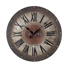 "Oversized 31"" Roman Numeral Wall Clock"