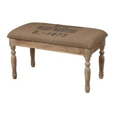 Presse Parisienne Wooden Covered Bench Seat