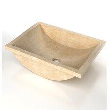 Rectangular Drop-in / Undermount Bathroom Sink