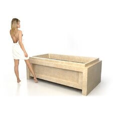 "72"" x 40"" Soaking Tub"