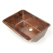 Bathroom Sink in Copper