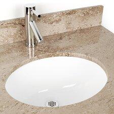 Small Oval China Bathroom Sink