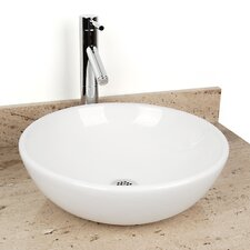 Sphere China Vessel Bathroom Sink