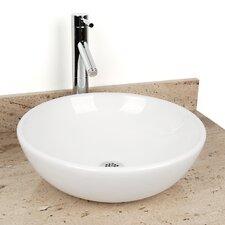 Sphere China Vessel Bathroom Sink