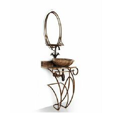 "Iron Victoria 17"" Single Bathroom Vanity Base"