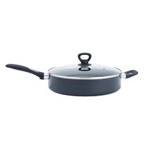 """Get-A-Grip 12"""" Non-Stick Skillet with Lid"""
