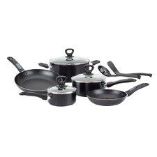 Get-A-Grip Aluminum 10-Piece Cookware Set