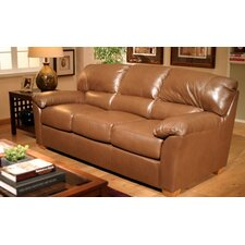 Cedar Heights Leather Loveseat
