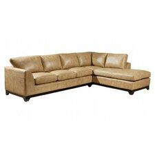 City Sleek Leather Living Room Set