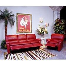 Luxor Leather Living Room Set