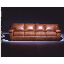 Prescott  4 Seat Sofa Leather Living Room Set