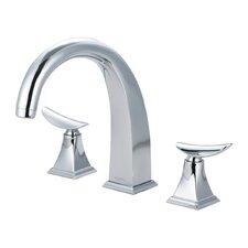 Widespread Bathroom Faucet Double Handle