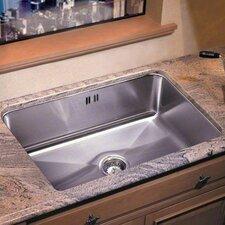"24"" x 18"" Undermount Extra Deep Single Bowl Kitchen Sink"