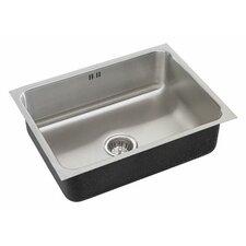 """16"""" x 16"""" x 10.5"""" Single Bowl Undermount Kitchen Sink"""