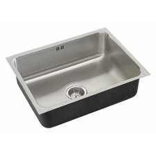 """20"""" x 16"""" Single Bowl Undermount Kitchen Sink"""