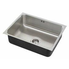 """21"""" x 18"""" x 10.5"""" Single Bowl Undermount Kitchen Sink"""