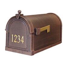 Berkshire Post Mounted Mailbox