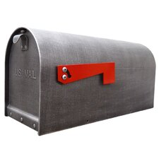 Titan Post Mounted Mailbox with Rain Overhang