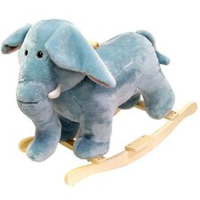 Plush Elephant Rocking Animal