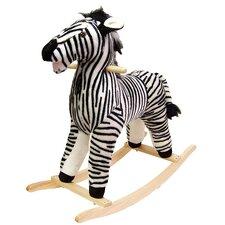 Zebra Plush Rocking Animal