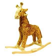Giraffe Plush Rocking Animal