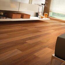"""3-1/8"""" Solid Brazilian Teak Hardwood Flooring in Brown"""