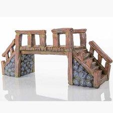 Decorative Wood Bridge Statue