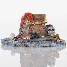Decorative Pirate Treasure Aquarium Sculpture