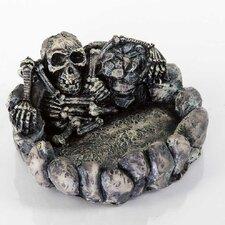 Decorative Skeleton Dish Aquarium Sculpture