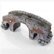 Decorative Old Stone Bridge  Aquarium Sculpture