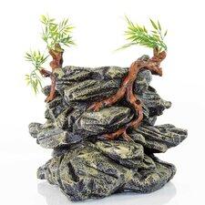 Decorative Drinking Fountain Rock Tower Aquarium Sculpture