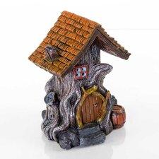 Decorative Woodland House Aquarium Sculpture