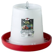 Little Giant Farm & Ag Plastic Hanging Poultry Feeder