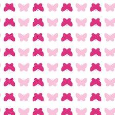 """Tots® 16.5' x 20.5"""" Butterfly Wallpaper"""