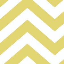 Tempaper® Zee Self-Adhesive, Removable Chevron and Herringbone Foiled Panel Wallpaper