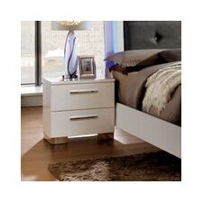 Lumier 2 Drawer Nightstand